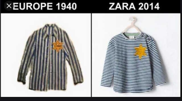 Look Zara pyjama rayé
